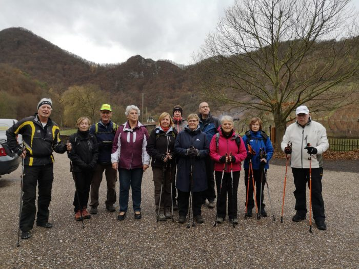 Nordicwalking in Mayschoss